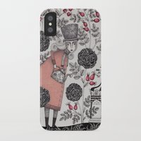 garden iPhone & iPod Cases featuring Winter Garden by Judith Clay