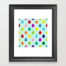 Mini Eggs Framed Art Print