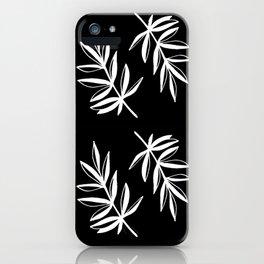 White Laurels iPhone Case