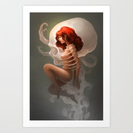 Constrained Art Print