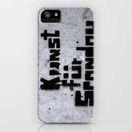 Kunst für Spandau iPhone Case
