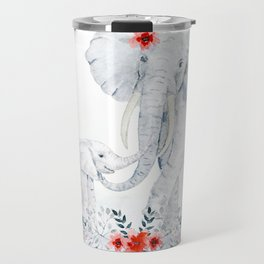 Mother's Day (Mother and Baby Elephants) Travel Mug