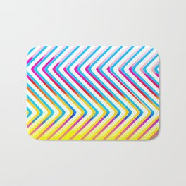 Pop Optical Art Bath Mat