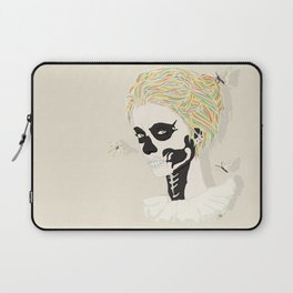 Skull Arlequin Laptop Sleeve