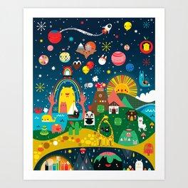 Super Mini Universe Print Art Print