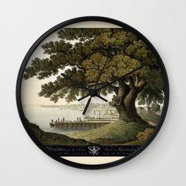 Philadelphia 1801 Wall Clock