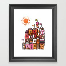 chateau Framed Art Print
