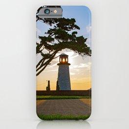 Buckroe Beach Lighthouse iPhone Case
