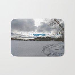 Winter Landscape 2 Bath Mat