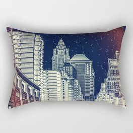 New York. Gotham City. Rectangular Pillow