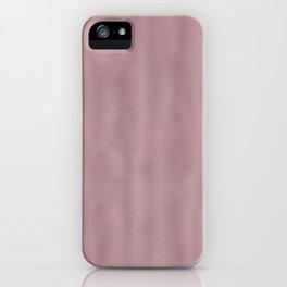 Mottled Vintage Blush Foil iPhone Case