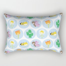 Everything Grows With Love Rectangular Pillow