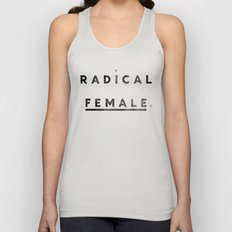 Radical Female Unisex Tank Top