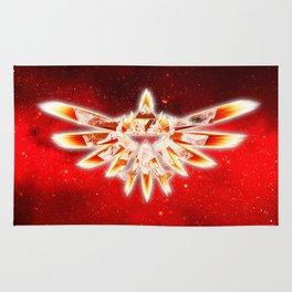 Zelda Red Nebula Rug