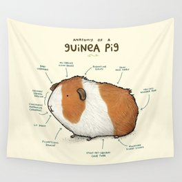 Anatomy of a Guinea Pig Wall Tapestry