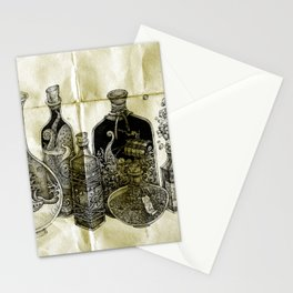sea witch's cabinet Stationery Cards