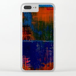 Simon Carter Painting Lake Woden Clear iPhone Case