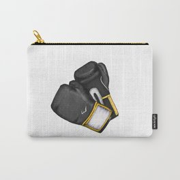 For the love of Boxing // BLACK & YELLOW Carry-All Pouch
