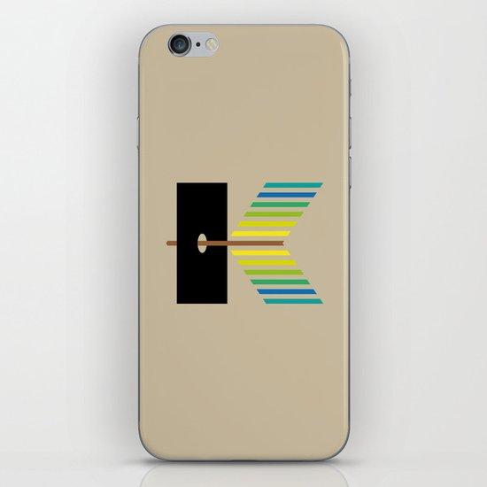 K like K iPhone & iPod Skin