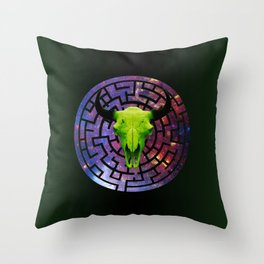 Minos Throw Pillow