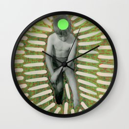 Look At What I Have Found Wall Clock