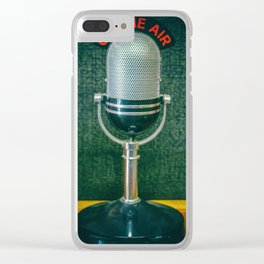 On the Air. Clear iPhone Case