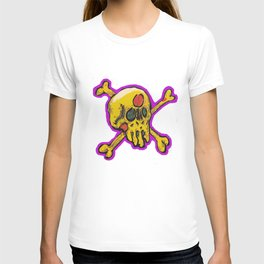 pizza face T-shirt