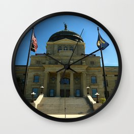Montana State Capitol Wall Clock
