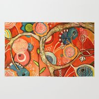 carnival Area & Throw Rugs featuring Carnival by kristenheinlein