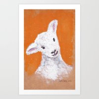 sheep Art Prints featuring Sheep by KeithKarloff