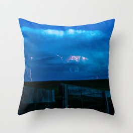 Rolling Wyoming Throw Pillow