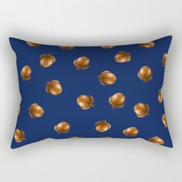 Acorn Pattern-Downriver Rectangular Pillow