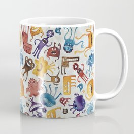 Critter Pattern 3 Coffee Mug