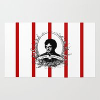 will graham Area & Throw Rugs featuring Will Graham by JM London