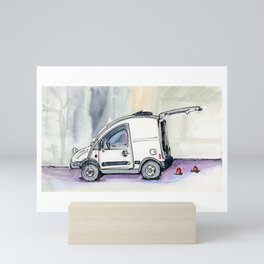 Little Van Mini Art Print