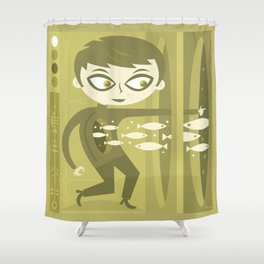 Master of Domains Shower Curtain