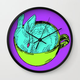 Liquid Lapin Wall Clock
