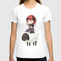 knitting T-shirts featuring Knitting Adventure by Freeminds