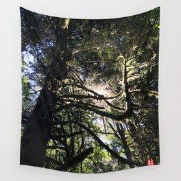 Light through branch Wall Tapestry
