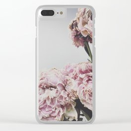 Nude bloom Clear iPhone Case