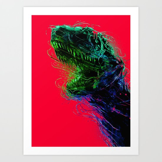 Killing machine  Art Print