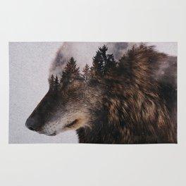 Canis Lupus Rug