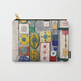 The Tiles of Lisbon Carry-All Pouch