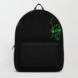 Green Fox Spirit Backpack