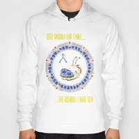 stargate Hoodies featuring Starscape 1 by spacemonkey89