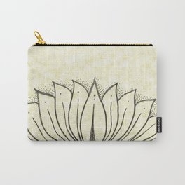 Floting Lotus Carry-All Pouch
