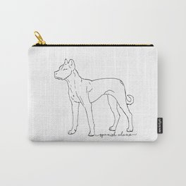 Spanish Alano sketch Carry-All Pouch