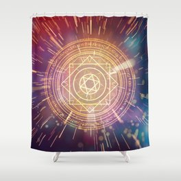 Strange Magic Mandala 1 Shower Curtain