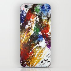 Artistic accidental print iPhone & iPod Skin