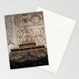 Organ and Ceiling (Cordoba Cathedral) Stationery Cards